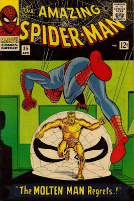 Amazing Spider-Man #35, the Molten Man