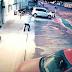 [VÍDEO]PM escapa ileso de atentado em SP ao correr em meio a tiros