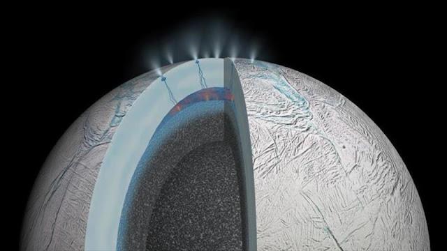 Hallan 'océano' en una luna de Saturno ¿Vidas extraterrestres?