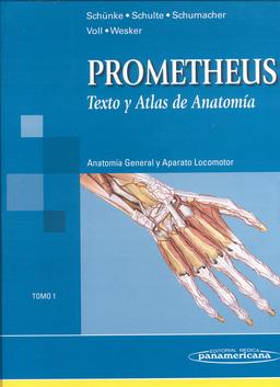 Prometheus Texto y Atlas de Anatomía Tomo 1
