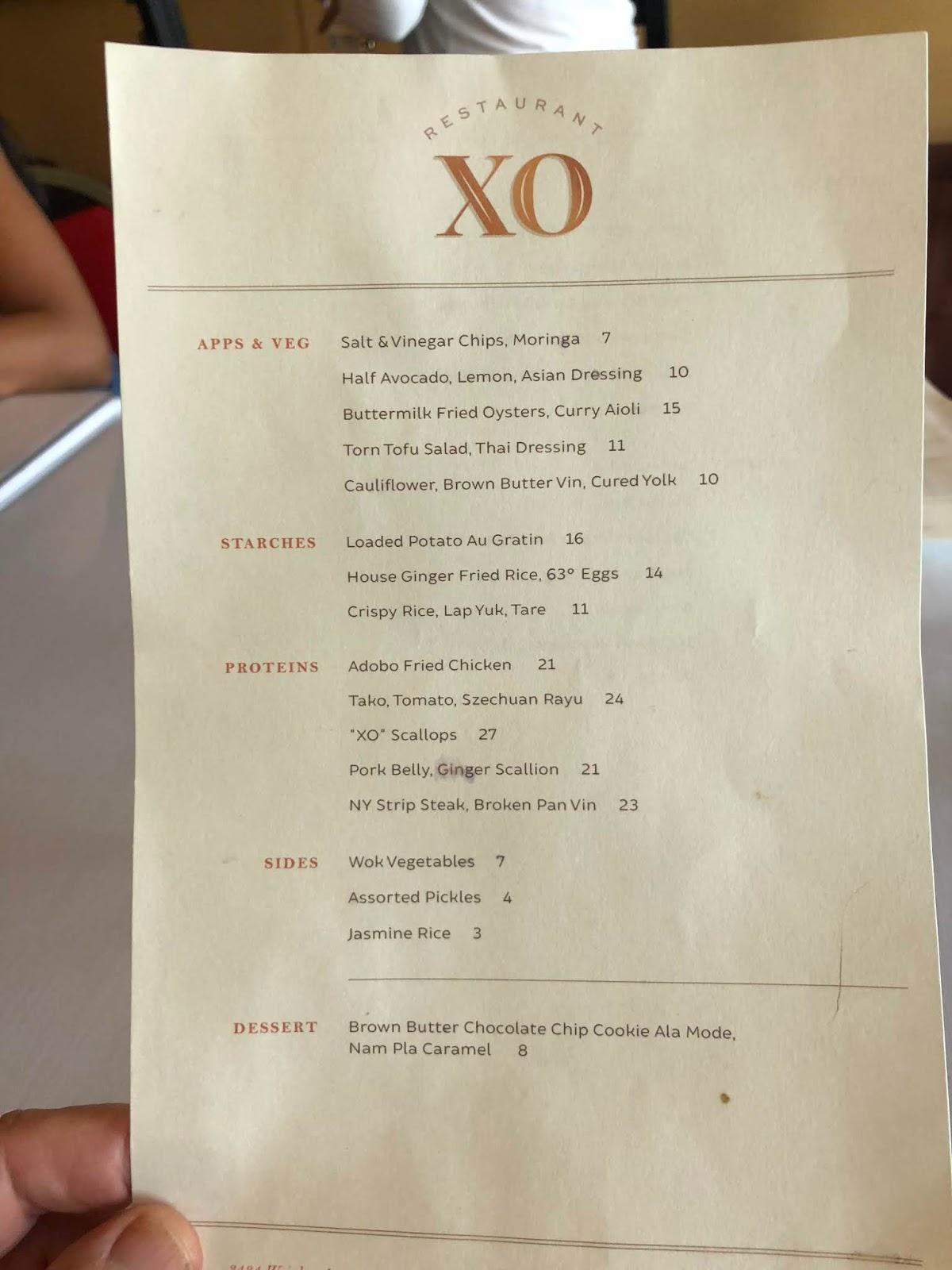 Great Eats Hawaii Restaurant Xo