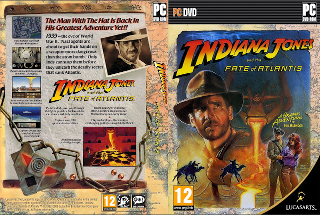 Capa Indiana Jones And The Fate Of Atlantis PC