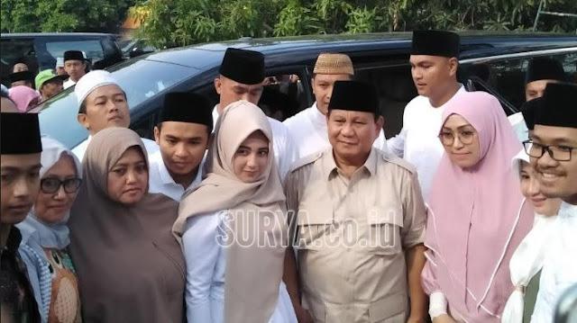 Kata Prabowo soal Isu Demokrat Main Dua Kaki di Pilpres 2019