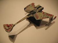 Klingon K'Tinga class battlecruiser