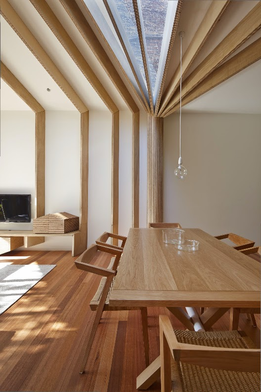 Casa cross stitch en australia fmd architects for Arquitectura de interiores