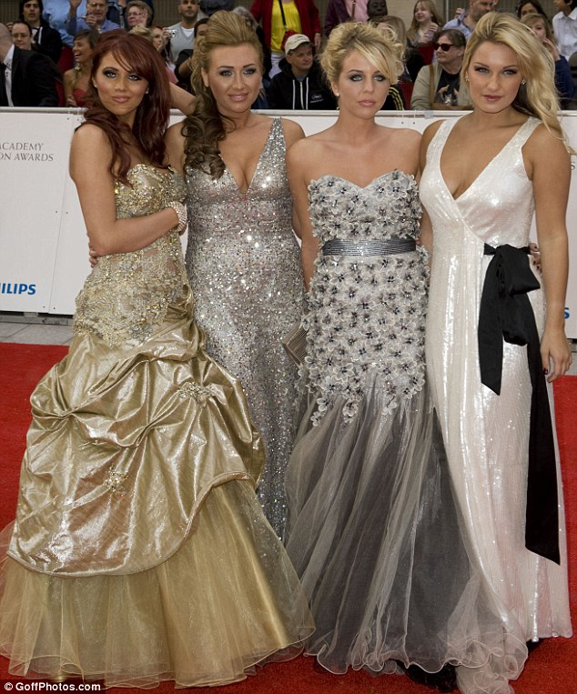 The Only Way Is Essex girls lead the glamour at the BAFTA Television Awards... but it's Amy Childs who steals the show
