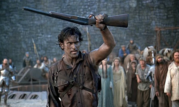 Bruce Campbell shotgun boomstick Army of Darkness