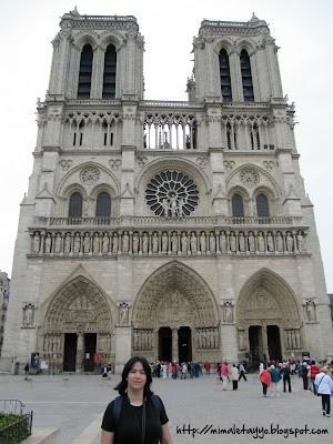 Exterior de Notre-Dame, París