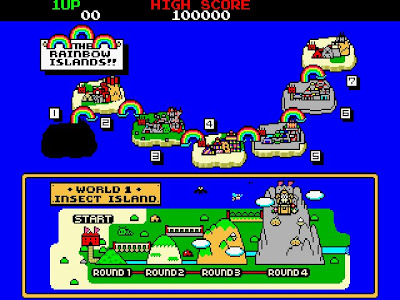 Rainbow Island: Rhe story the Bubble Bobble 2+arcade+game+portable