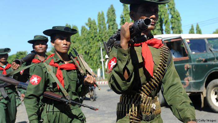 PBB: Helikopter Myanmar Tembaki Warga Sipil Rakhine, 7 Tewas