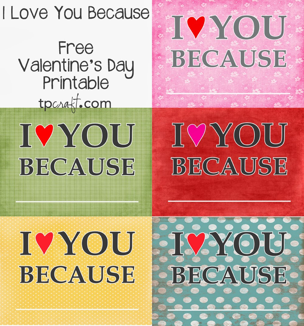 I Love You Because: TPcraft.com: I Love You Because... {write On Frames}