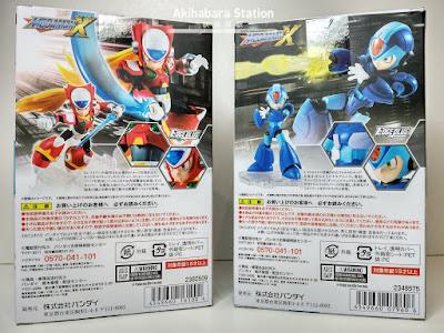 NXEdge Style X y ZERO de Megaman X - Tamashii Nations