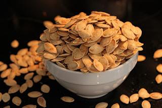 semillas de calabaza, zinc