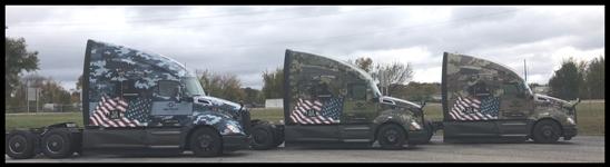 USA Truck Kenworth T680s