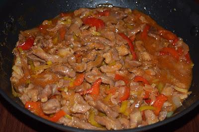 Karkówka wieprzowa w sosie