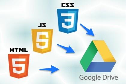 [教學]在 Google Drive 建立 HTML 網頁, 需要注意這三件事