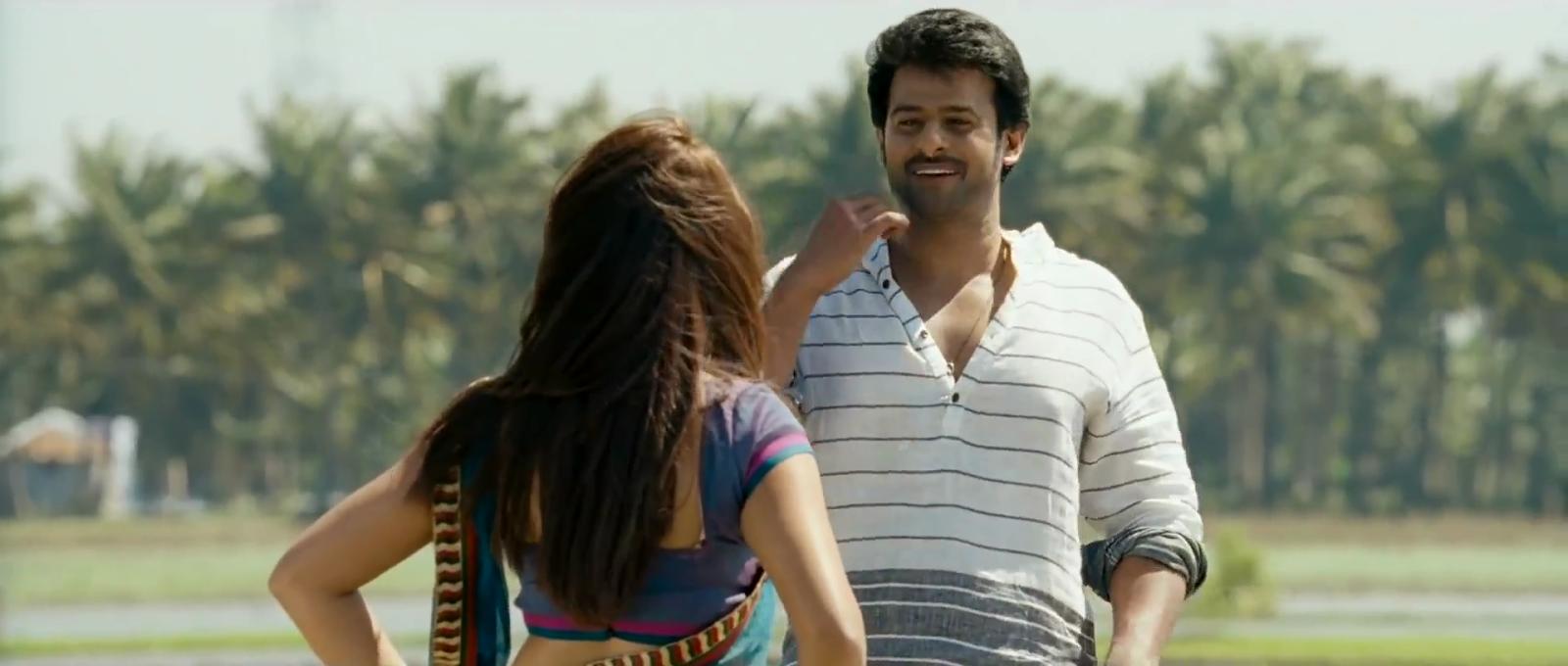 Prabhas Fans Forever: Mirchi Movie Richa And Prabhas Romantic Scene