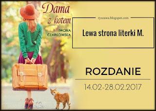 http://ryszawa.blogspot.com/2017/02/dama-z-kotem-iwona-czarkowska-rozdanie.html
