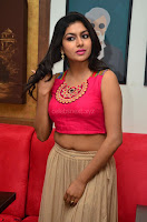 Akshita super cute Pink Choli at south indian thalis and filmy breakfast in Filmy Junction inaguration by Gopichand ~  Exclusive 033.JPG
