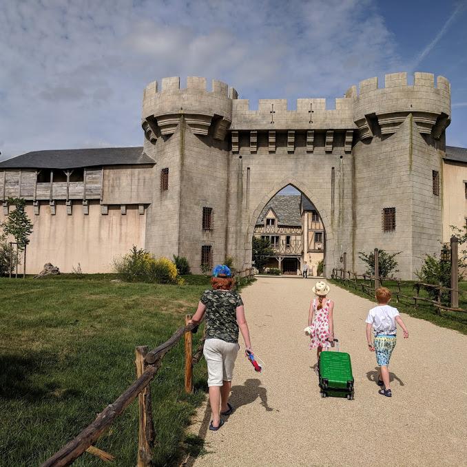 Puy du Fou Theme Park, France - La Citadelle hotel entrance