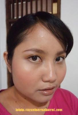 FOTD Memakai Ranee Blush On No 01