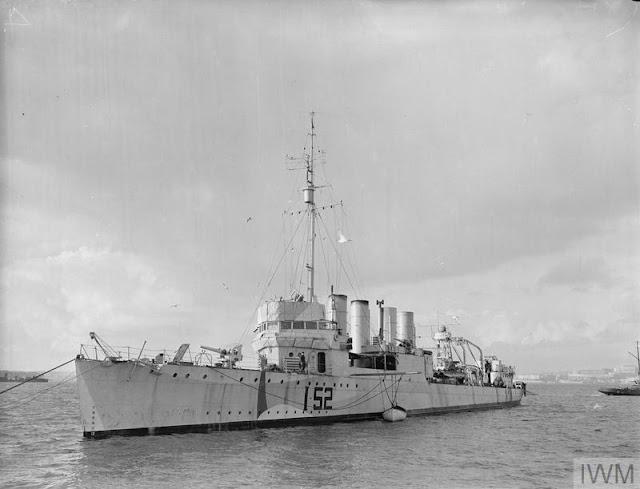 19 February 1941 worldwartwo.filminspector.com HMS Salisbury