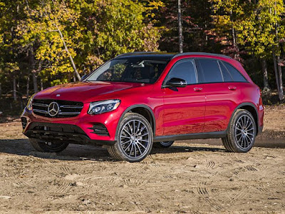 New 2016 Mercedes-Benz GLC red image