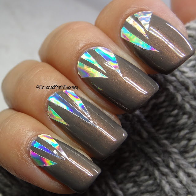 Bundle Monster - Silver Holo Nail Art Viny