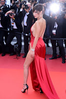 bella hadid sexy best red carpet dresses 2016 cannes film festival