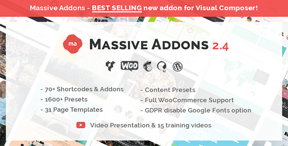 Massive Addons for Visual Composer v2.4.2.3