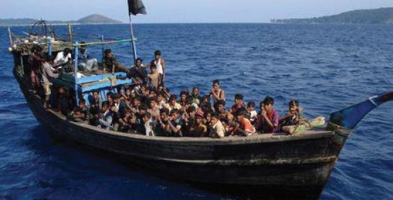 Manusia Perahu dari Myanmar