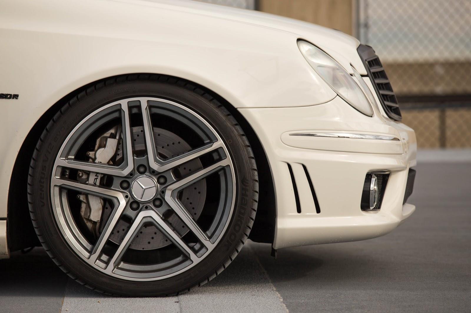 Mercedes Benz W211 E55 Amg On R19 Sport Edition St6 Wheels