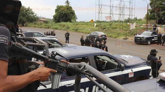 Capturan a jefe de plaza de Zamora Michoacan tras balacera con policías
