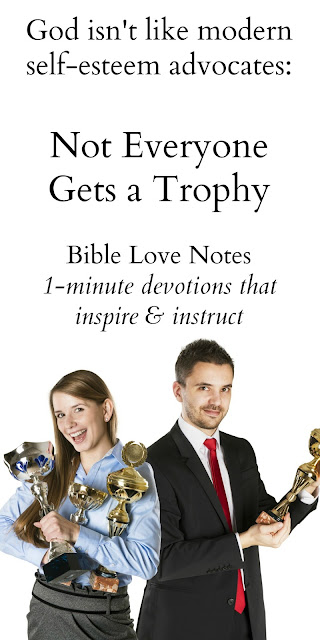 God Doesn't Promise a Trophy to Everyone