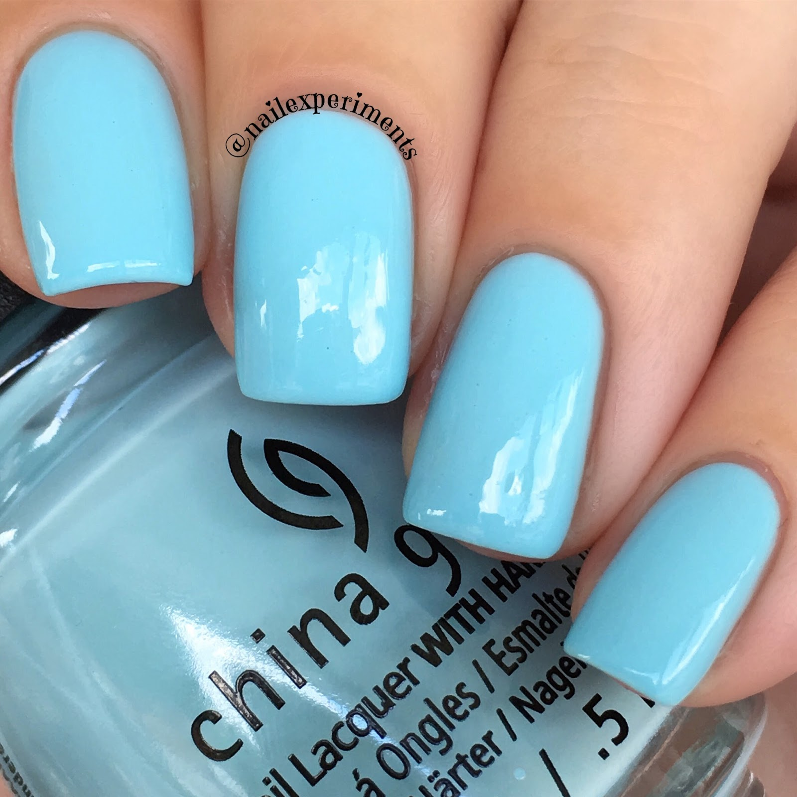 China glaze chalk me up swatch
