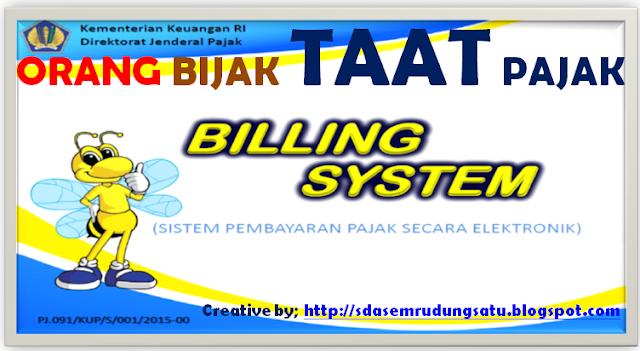 E-BILLING SISTEM – Pembayaran Pajak Online – [Vidio Tutorial & Manualnya]