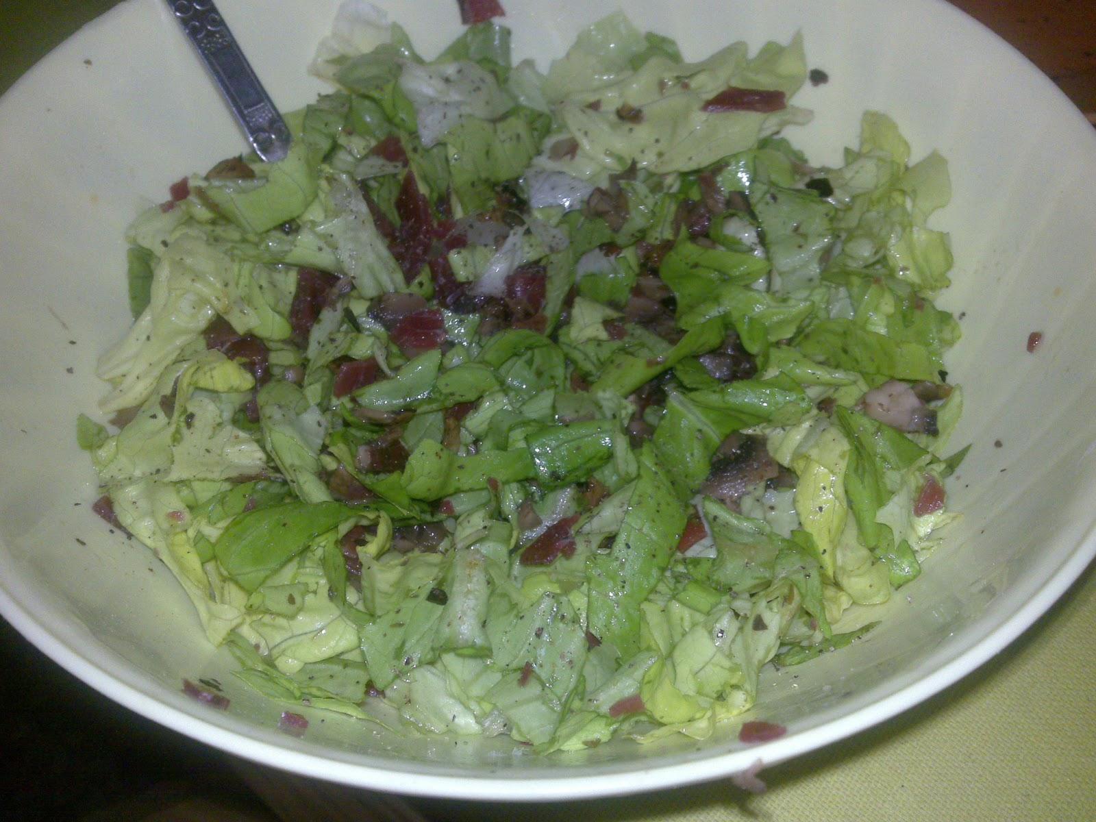 ripeti le verdure dietetiche dissociate