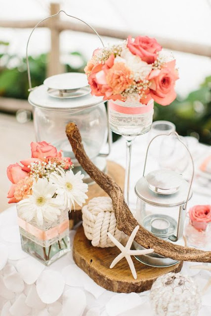 Using Beach Wedding Centerpieces for Your Happily-Ever-After