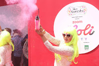 Bollywood and TV Show Celebs Playing Holi 2017   Zoom Holi 2017 Celetion 13 MARCH 2017 018.JPG
