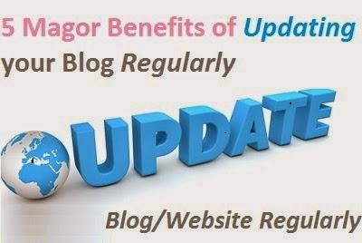 Updating Blog Regularly