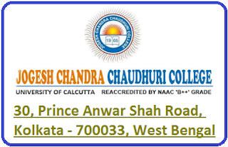 Jogesh Chandra Chaudhuri College
