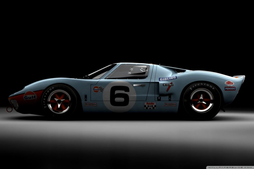 Wallpaper Ford Gt40 Wallpapers Simple