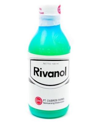Harga Rivanol Terbaru 2017 Obat Pencucian Luka