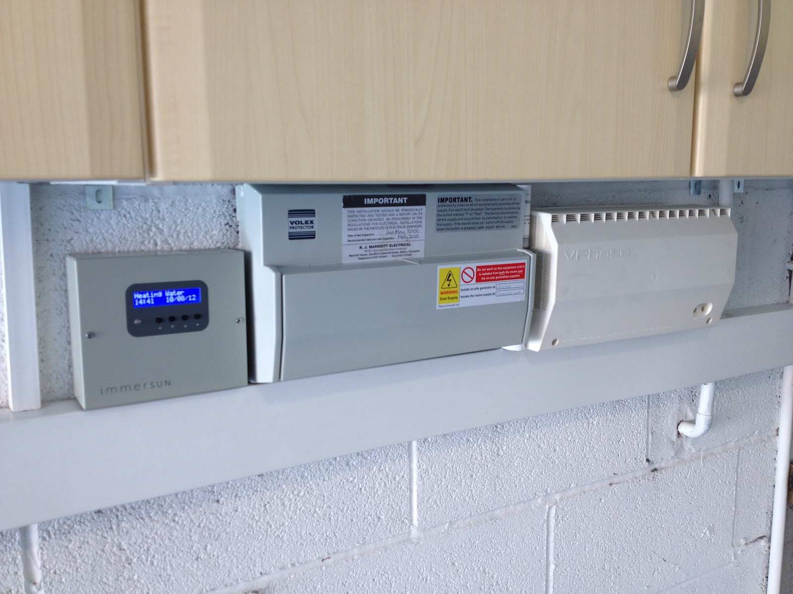 Latest Installations Immersun Solar Pv Immersion Heater