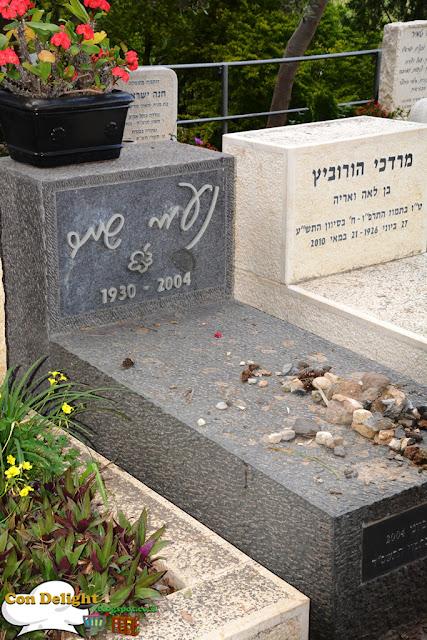 Naomi Shemer grave קבר נעמי שמר