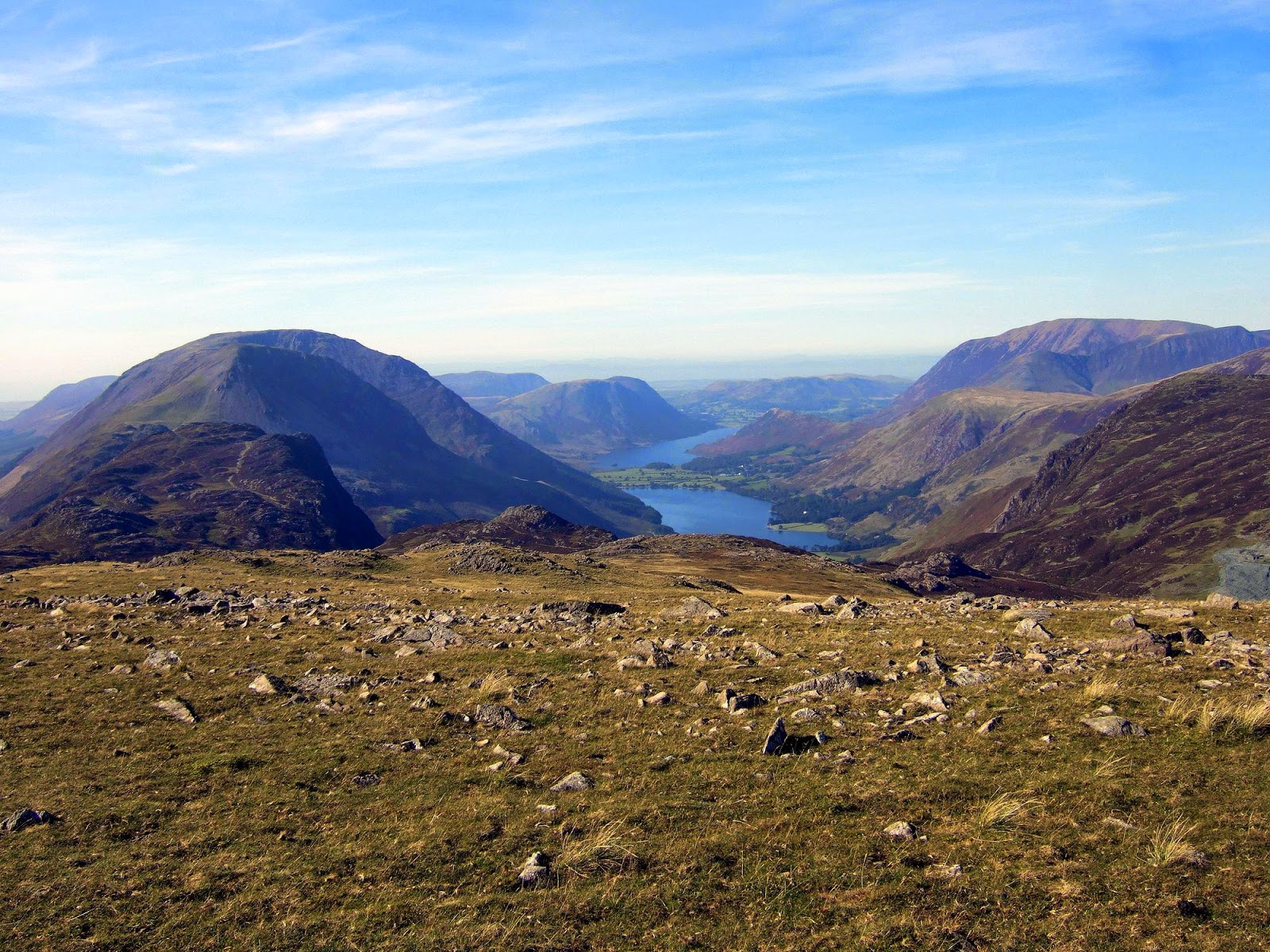 High stile and the Buttermere Valley