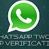 WhatsApp two-step verification now available in the Beta Version of the app
