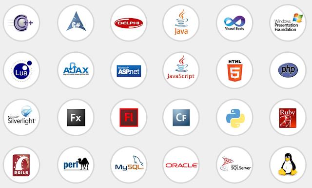 أفضل 10 لغات برمجية مع مخترعيهم