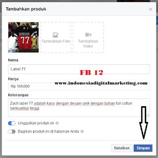 toko online facebook 12