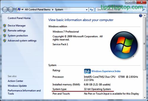 Perbedaan Kelebihan Kekurangan Windows 32bit dan 64bit